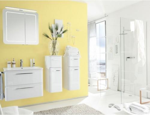 colour blocking neuer badezimmer trend. Black Bedroom Furniture Sets. Home Design Ideas