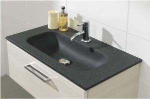 Mineralguss Waschbecken Reinigen waschtisch materialien evermite splendstone der badmöbel