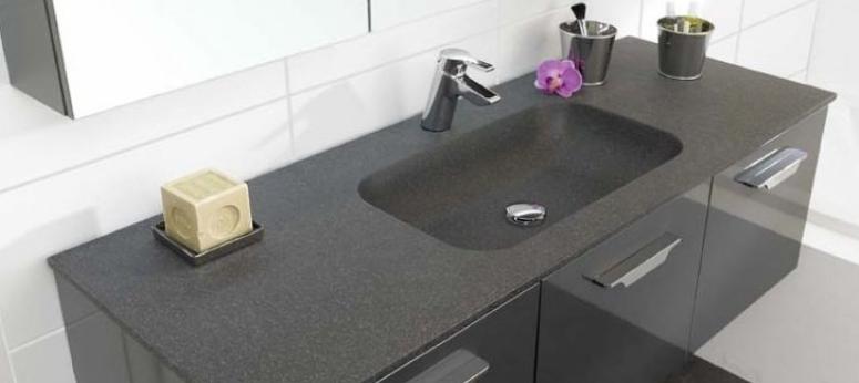 Sehr Waschtisch-Materialien: evermite® & Splendstone | Badmöbel-Blog YL59
