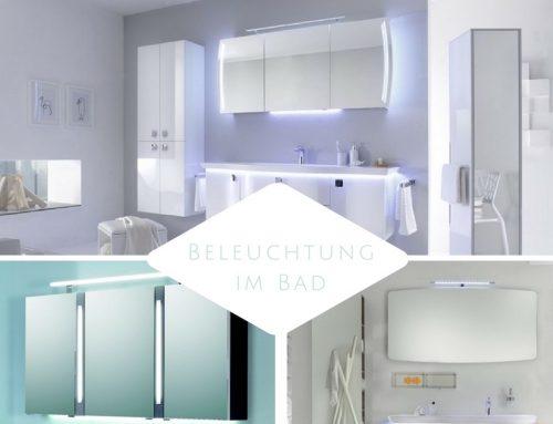 Badspiegel mit LED Beleuchtung – die neuesten Trends