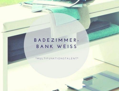 Badezimmerbank weiß – modern & günstig