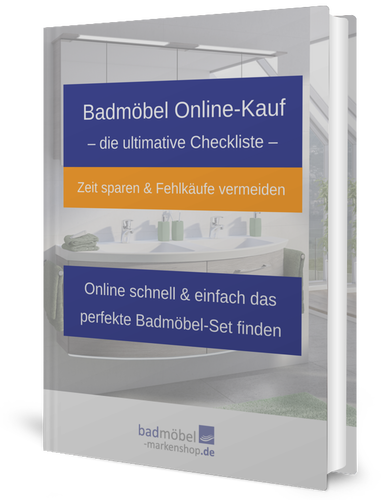 Checkliste Badmöbel Online-Kauf