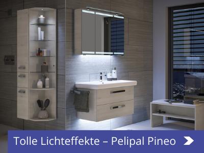 badmöbel mit lichteffekten peleipal pineo