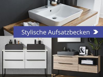 badmöbel trends 2020 _ Aufsatzwaschbecken in matt Schwarz