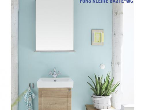 Badmöbel-Sets 50cm- fürs kleine Gäste-WC