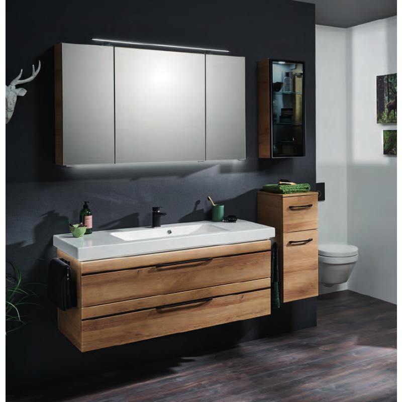 Badmöbel Set 120cm Waschtisch, Unterschrank, Spiegelschrank   Badmöbel Markenshop
