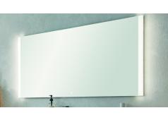 Puris Xpression Flächenspiegel, LED-Beleuchtung rechts und links, 140 cm