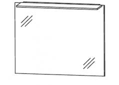 Puris D.Light Flächenspiegel, 70cm
