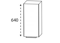Puris 4landa Oberschrank, 1 Tür , mit Griff, 30 cm