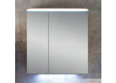 Pelipal Balto Spiegelschrank mit LED-Flächenleuchte im Kranz, 70 cm