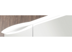 Marlin Marlin Bad 3090 Badmöbel-Set, Ablage rechts, Spiegelschrank mit Acryloberboden, 120 cm