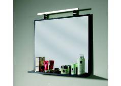Puris Fresh Flächenspiegel mit LED-Aufbauleuchte, 70 cm