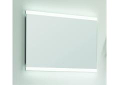Puris Xpression Flächenspiegel, LED-Beleuchtung oben und unten, 60 cm
