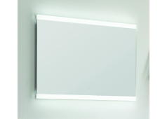 Puris Xpression Flächenspiegel, LED-Beleuchtung rechts und links, 60 cm