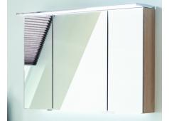 Puris Fine line Spiegelschrank, einfach verspiegelt, 90 cm