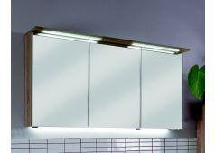 Puris Fresh Spiegelschrank mit LED-Beleuchtung, für Doppelwaschtische, 120 cm