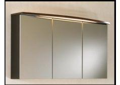 Puris Speed Spiegelschrank mit LED-Einbauleuchte, 100 cm