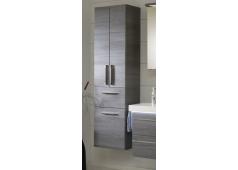 Pelipal Balto Hochschrank, 2 Türen, 1 Auszug, 1 Wäschekippe, 45 cm