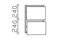 Pelipal 6010 Unterschrank, 35 cm