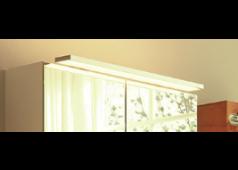 Nobilia Aufsatzleuchte / Flächenleuchte 110 cm