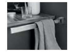 Puris Zubehör Handtuchhalter, schwenkbar