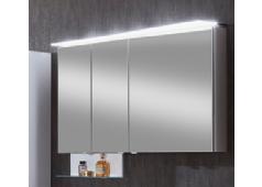 Marlin Marlin Bad 3160 Spiegelschrank, Acryloberboden mit LED-Beleuchtung, Lichtfarbe regelbar,120 cm