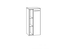 Marlin Marlin Bad 3250 Highboard mit Abdeckplatte, 1 Tür und 1 Einschubregal, 40 cm