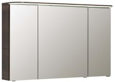 Pelipal Balto Spiegelschrank mit LED-Flächenleuchte im Kranz, 120 cm