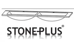 Puris Cool line Doppel-Waschtisch Stoneplus, 120 cm