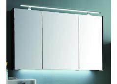 Puris D.Light Spiegelschrank mit Aufbauleuchte, 102cm