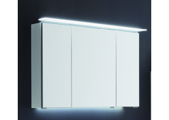 Puris Slim line Spiegelschrank, doppelt verspiegelt, 90 cm