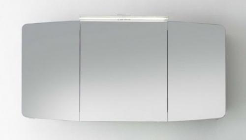 Spiegelschrank  inkl. LED-Aufsatzleuchte, 120 cm, Stecksose AUßEN