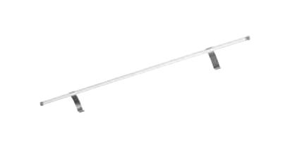 Aufsatzleuchte für Flächenspiegel u Spiegelschrank, 12V LED, 450 LM, 6500 Kelvin, 90 cm