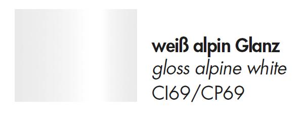 Weiß alpin