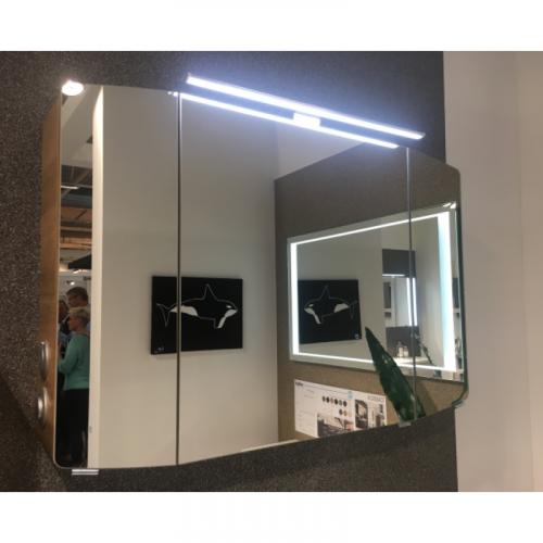Spiegelschrank inkl. LED-Beleuchtung, 100cm, Steckdose AUßEN