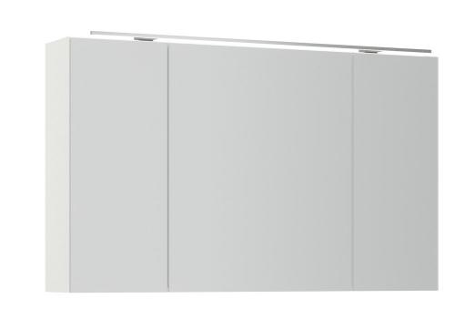 Nobilia Spiegelschrank dreitürig, 120 cm