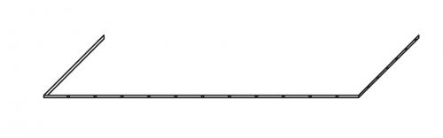 LED-Zusatzbeleuchtung für Waschtisch 125 cm