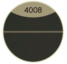 Nr. 4008 Schwarz Matt Select/Weiss