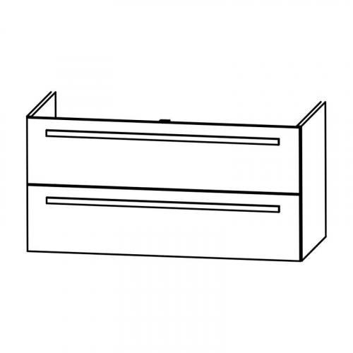 Waschtischunterschrank für MINERALGUSSWASCHTISCH,  90 cm
