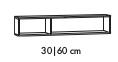 Regal für Spiegelschrank/Spiegelpaneel inkl. Aufhänger, 90 cm