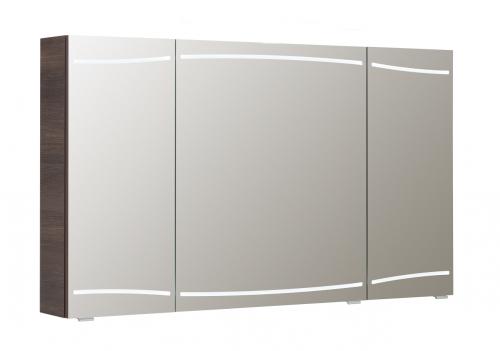 Spiegelschrank inkl. LED-Beleuchtung in den Türen, 140 cm