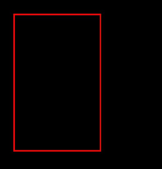 Breiter Spiegel links