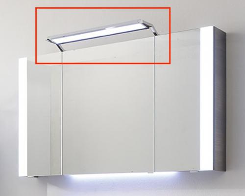 Aufsatzleuchte für Spiegelschrank, schwenkbar, 12V LED, LM LED, 60 cm