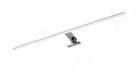 Aufsatzleuchte für Flächenspiegel, 40 cm