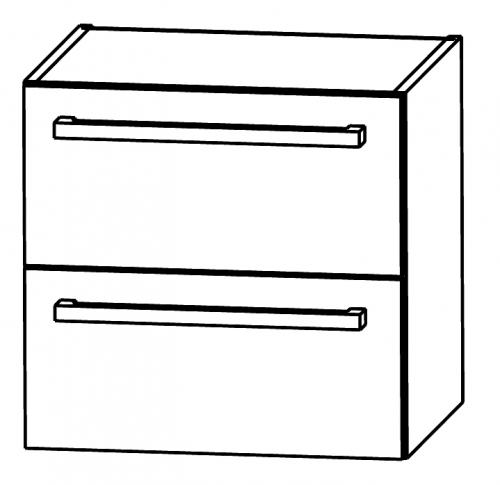 Waschtischunterschrank (Ergänzungselement), 50 cm