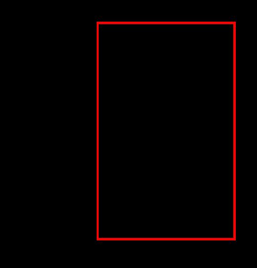 breiter Spiegel rechts