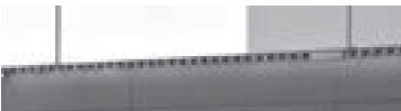 LED Waschtischbeleuchtung für Spiegelschrank (3,9 Watt),  86 cm breit