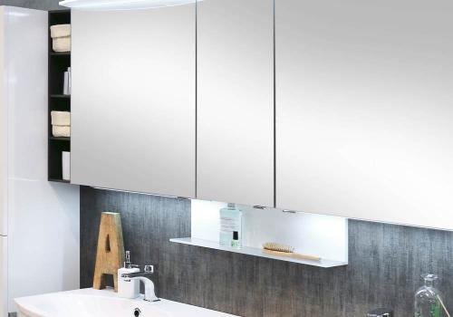 Winkelablage für Spiegelschrank/Spiegelpaneel inkl. Aufhänger, 60 cm