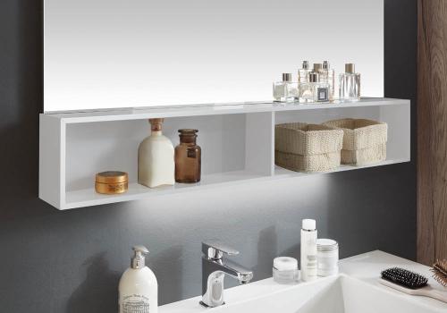 Regal für Spiegelschrank/Spiegelpaneel inkl. Aufhänger, 120 cm