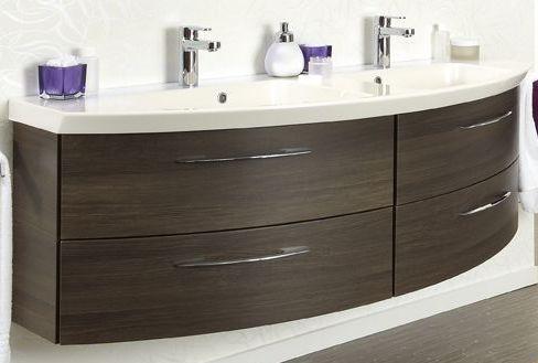 Waschtischunterschrank, 4 Auszüge, 150 cm